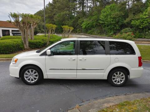 2013 Chrysler Town and Country for sale at C & J International Motors in Duluth GA