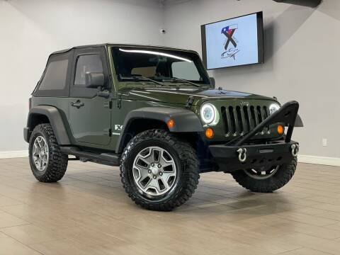 2007 Jeep Wrangler for sale at TX Auto Group in Houston TX