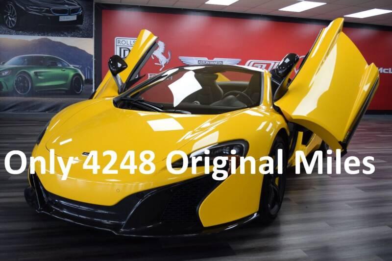 2016 McLaren 650S Spider for sale at Icon Exotics in Houston TX