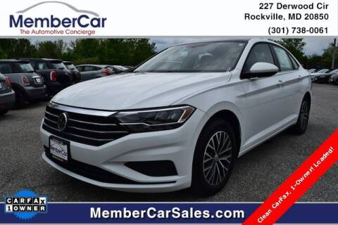 2019 Volkswagen Jetta for sale at MemberCar in Rockville MD