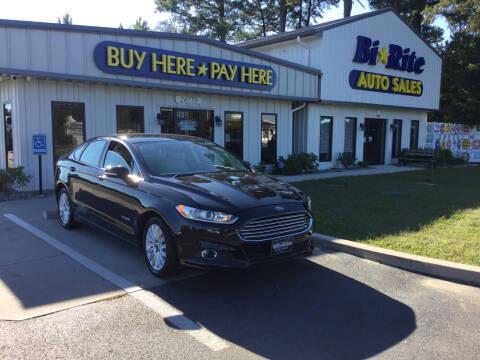 2014 Ford Fusion Hybrid for sale at Bi Rite Auto Sales in Seaford DE