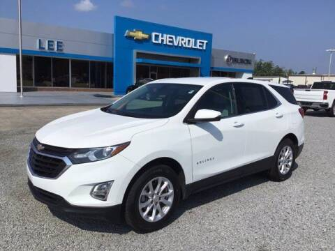 2018 Chevrolet Equinox for sale at LEE CHEVROLET PONTIAC BUICK in Washington NC