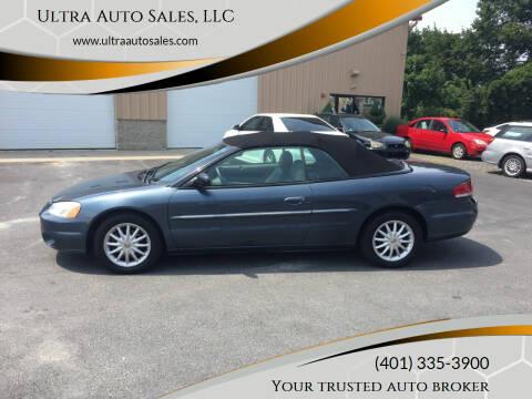 2002 Chrysler Sebring for sale at Ultra Auto Sales, LLC in Cumberland RI