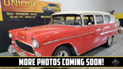 1955 Chevrolet 210 for sale at UNIQUE SPECIALTY & CLASSICS in Mankato MN