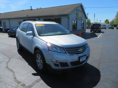 2015 Chevrolet Traverse for sale at Tri-County Pre-Owned Superstore in Reynoldsburg OH