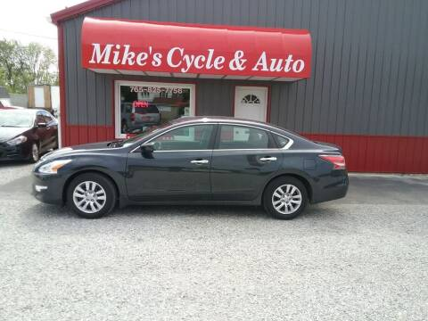 2014 Nissan Altima for sale at MIKE'S CYCLE & AUTO in Connersville IN