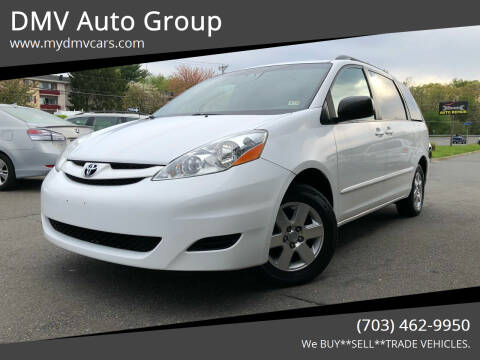 2009 Toyota Sienna for sale at DMV Auto Group in Falls Church VA