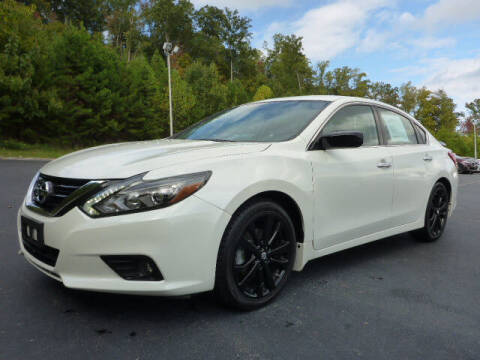 2017 Nissan Altima for sale at RUSTY WALLACE KIA OF KNOXVILLE in Knoxville TN