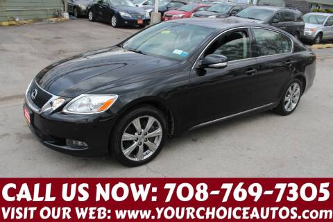 2008 Lexus GS 350 for sale at Your Choice Autos in Posen IL