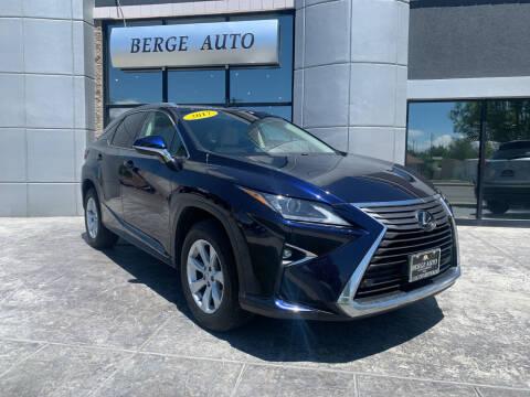 2017 Lexus RX 350 for sale at Berge Auto in Orem UT