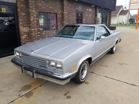 1985 Chevrolet El Camino for sale at Madison Motor Sales in Madison Heights MI