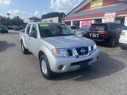 2016 Nissan Frontier for sale at Sell Your Car Today in Fayetteville NC