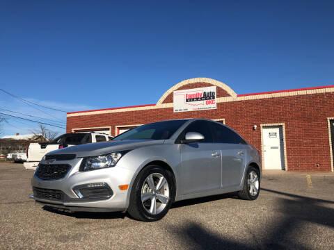 2015 Chevrolet Cruze for sale at Family Auto Finance OKC LLC in Oklahoma City OK