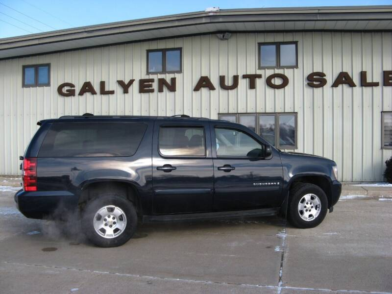2007 Chevrolet Suburban for sale at Galyen Auto Sales in Atkinson NE