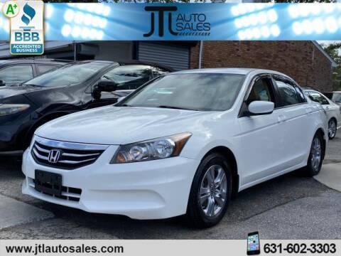 2012 Honda Accord for sale at JTL Auto Inc in Selden NY