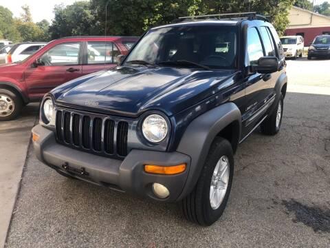 2002 Jeep Liberty for sale at Barga Motors in Tewksbury MA
