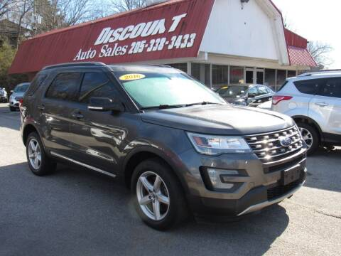 2016 Ford Explorer for sale at Discount Auto Sales in Pell City AL