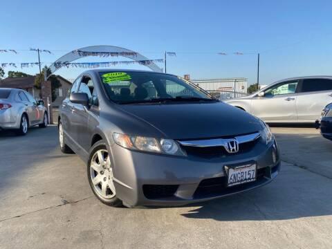2010 Honda Civic for sale at CALIFORNIA AUTO SALE 2 in Livingston CA