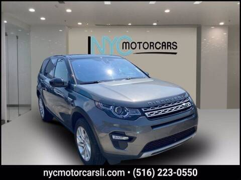 2018 Land Rover Discovery Sport for sale at NYC Motorcars in Freeport NY