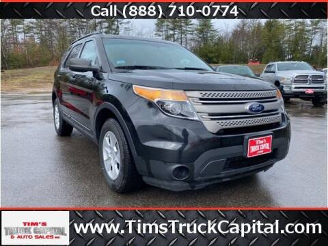 2013 Ford Explorer for sale at TTC AUTO OUTLET/TIM'S TRUCK CAPITAL & AUTO SALES INC ANNEX in Epsom NH