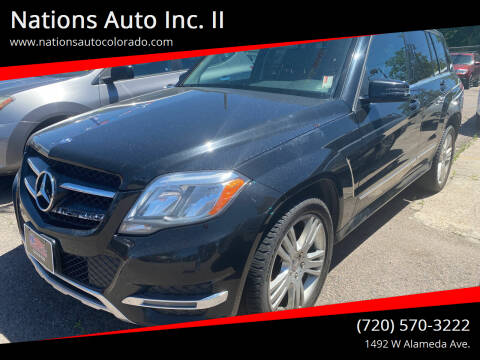 2014 Mercedes-Benz GLK for sale at Nations Auto Inc. II in Denver CO