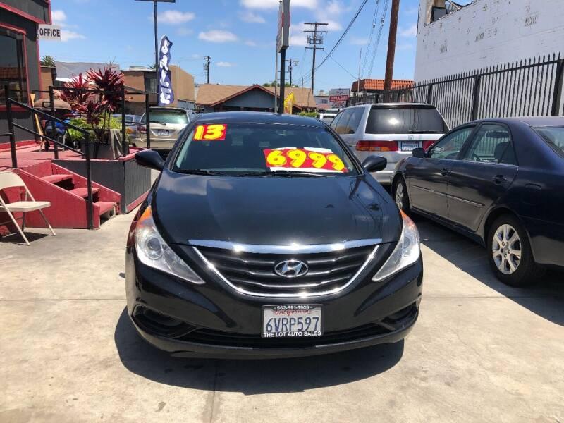 2013 Hyundai Sonata for sale at The Lot Auto Sales in Long Beach CA