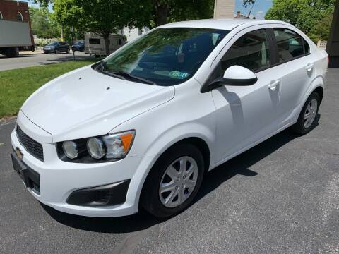 2013 Chevrolet Sonic for sale at On The Circuit Cars & Trucks in York PA