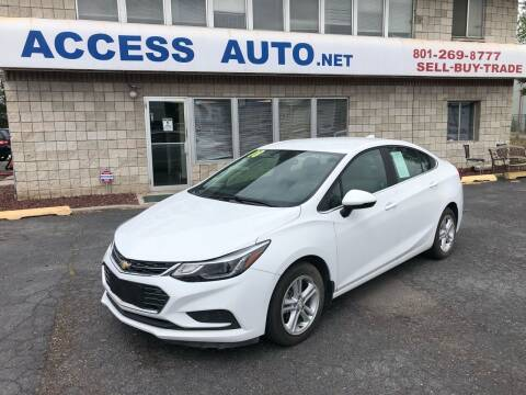 2018 Chevrolet Cruze for sale at Access Auto in Salt Lake City UT