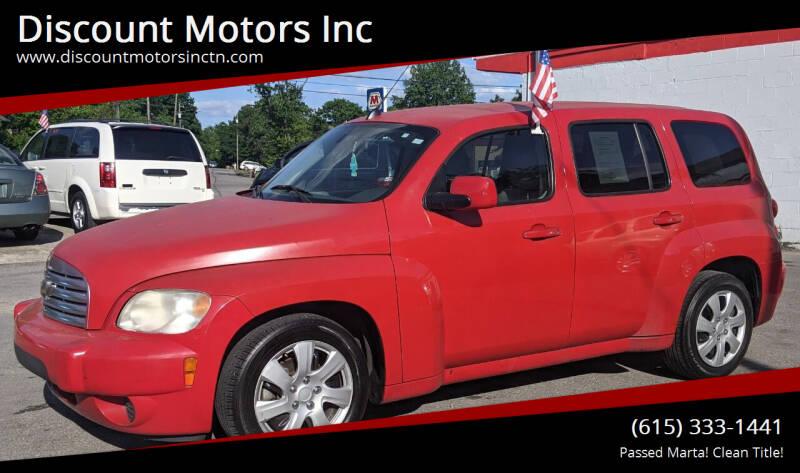 2010 Chevrolet HHR for sale at Discount Motors Inc in Nashville TN