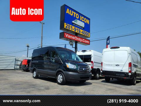 2018 Ford Transit Passenger for sale at Auto Icon in Houston TX