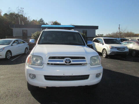 2007 Toyota Sequoia for sale at Olde Mill Motors in Angier NC