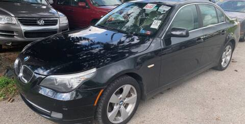 2008 BMW 5 Series for sale at Trocci's Auto Sales in West Pittsburg PA