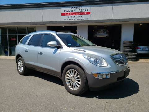2012 Buick Enclave for sale at Landes Family Auto Sales in Attleboro MA