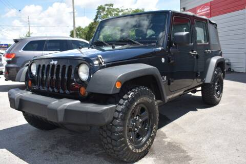 2009 Jeep Wrangler Unlimited for sale at Mix Autos in Orlando FL