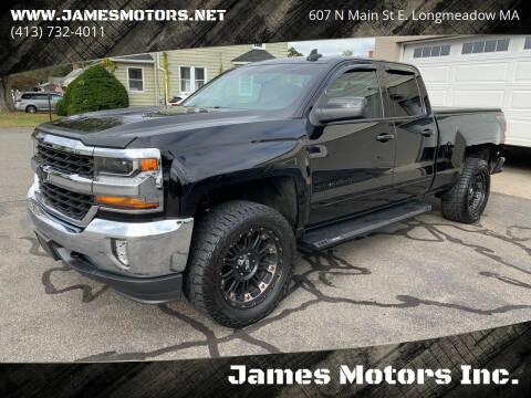 2016 Chevrolet Silverado 1500 for sale at James Motors Inc. in East Longmeadow MA