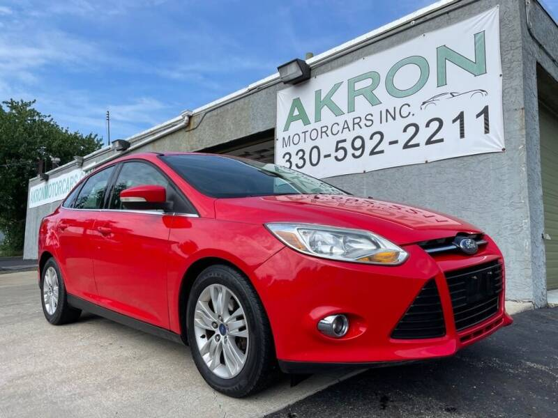 2012 Ford Focus for sale at Akron Motorcars Inc. in Akron OH