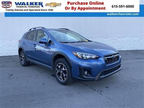 2018 Subaru Crosstrek for sale at WALKER CHEVROLET in Franklin TN
