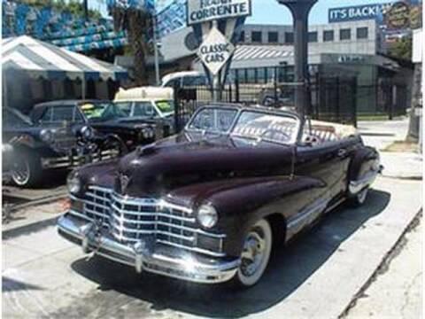 1947 Cadillac Eldorado for sale at Frank Corrente Cadillac Corner in Los Angeles CA