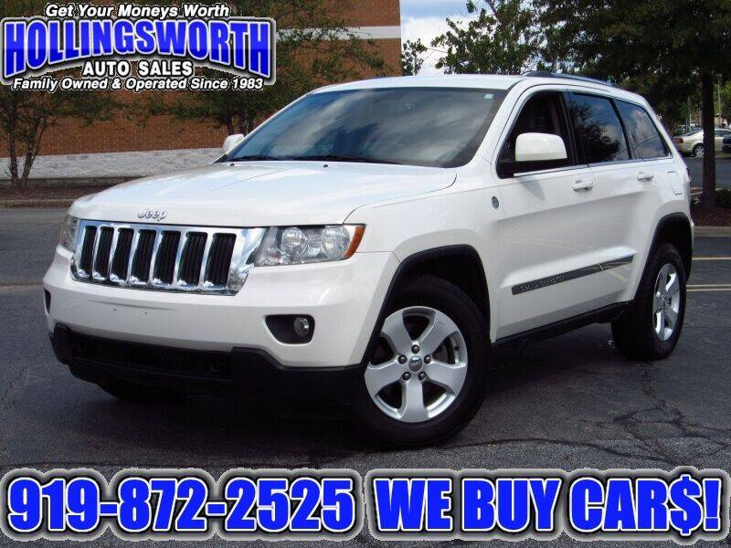 2012 Jeep Grand Cherokee for sale at Hollingsworth Auto Sales in Raleigh NC