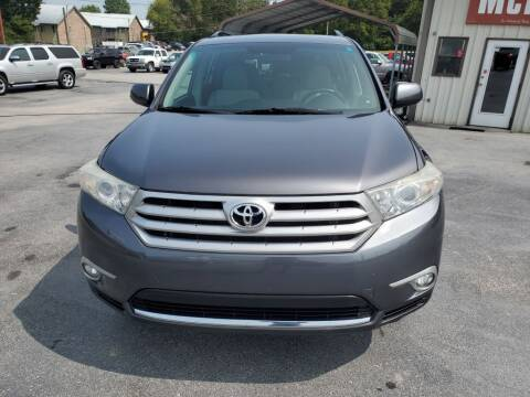 2012 Toyota Highlander for sale at MCMANUS AUTO SALES in Knoxville TN