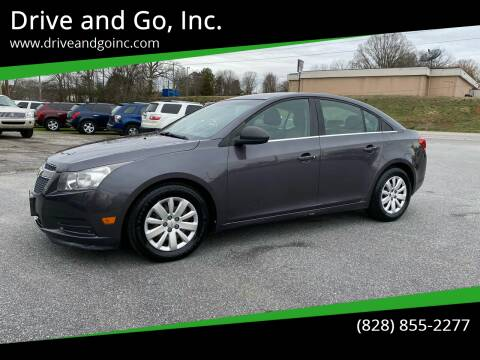 2011 Chevrolet Cruze for sale at Drive and Go, Inc. in Hickory NC