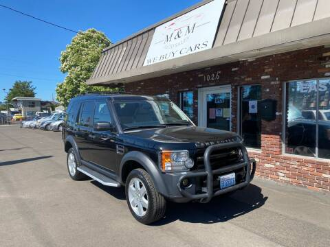 2005 Land Rover LR3 for sale at M&M Auto Sales in Portland OR