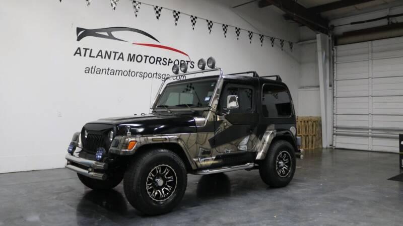 1999 Jeep Wrangler for sale at Atlanta Motorsports in Roswell GA