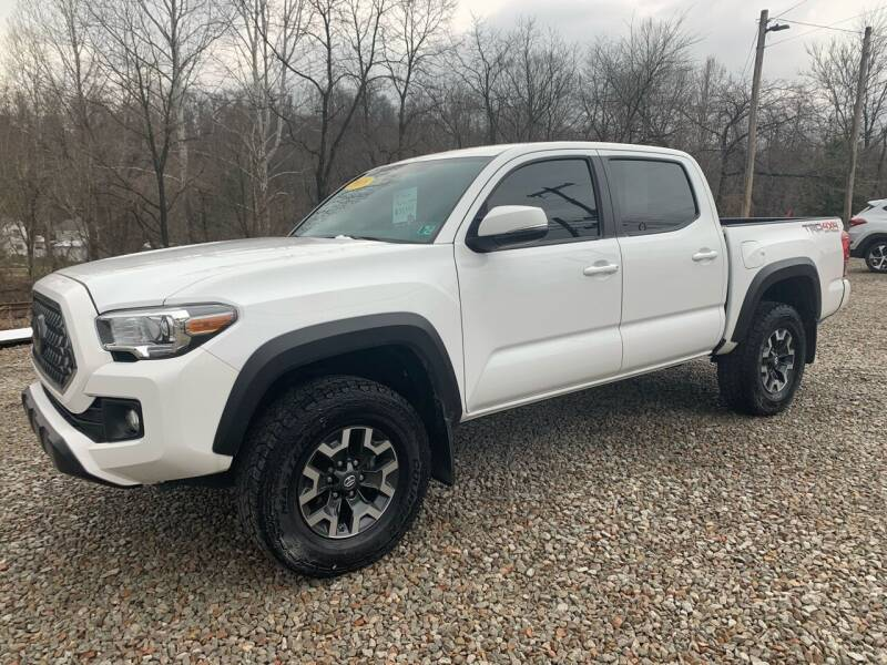 2018 Toyota Tacoma for sale at Reds Garage Sales Service Inc in Bentleyville PA