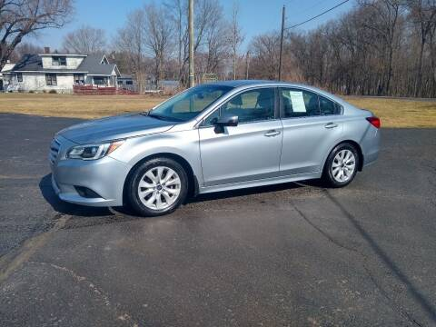 2015 Subaru Legacy for sale at Depue Auto Sales Inc in Paw Paw MI