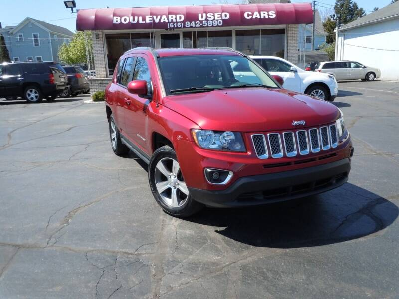 2017 Jeep Compass for sale at Boulevard Used Cars in Grand Haven MI