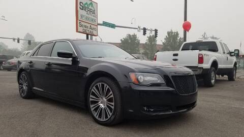 2013 Chrysler 300 for sale at SIERRA AUTO LLC in Salem OR