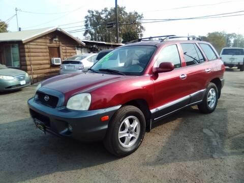 2002 Hyundai Santa Fe for sale at Larry's Auto Sales Inc. in Fresno CA