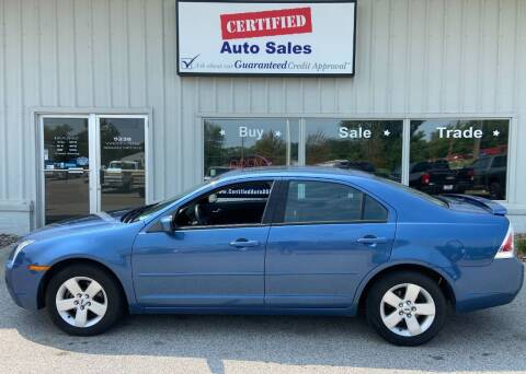 2009 Ford Fusion for sale at Certified Auto Sales in Des Moines IA