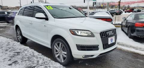 2013 Audi Q7 for sale at I-80 Auto Sales in Hazel Crest IL